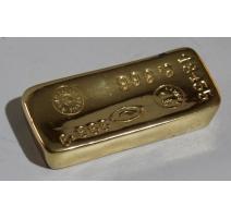 """Presse-papiers """"Lingot 18435"""" en fonte dorée"""