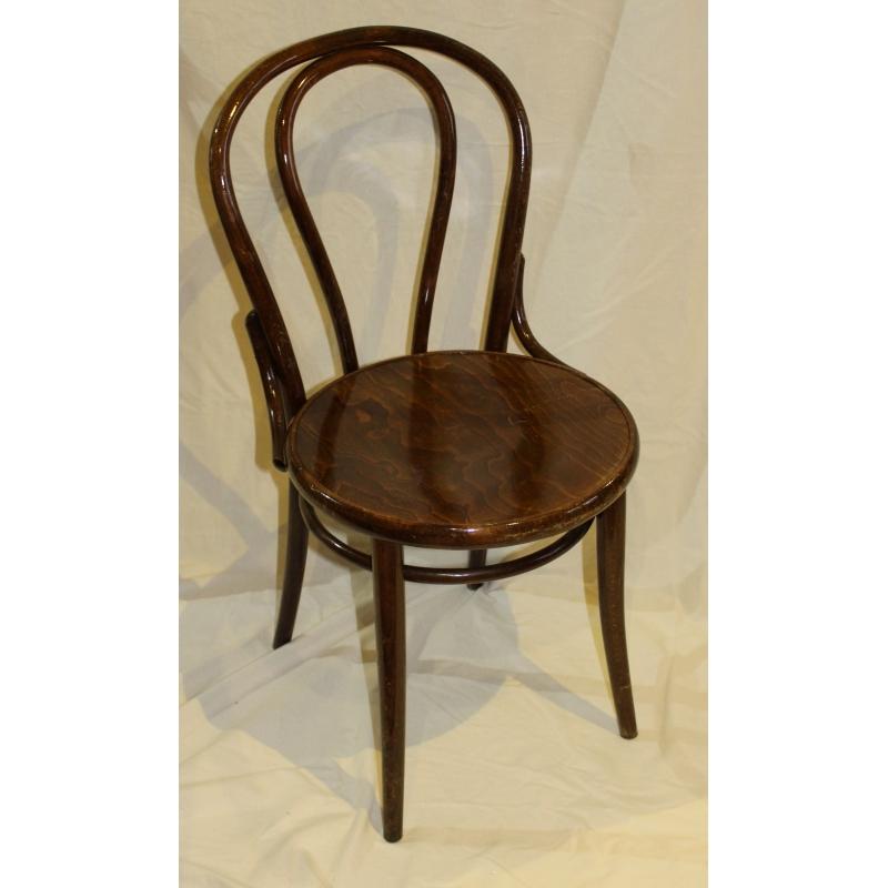Chaise de bistrot dossier arrondi moinat sa antiquit s d coration - Un dossier de chaise ...