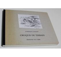 """Livre """"Croquis de terrain"""" par Dominique COSANDEY"""