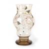 Vase balustre à double renflement signé E. GALLÉ