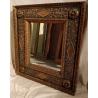 Miroir espagnole en bois doré