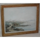 """Lithographie """"Vue de Nion"""" par HACKERT"""