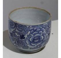 Bol en porcelaine décor fleurs