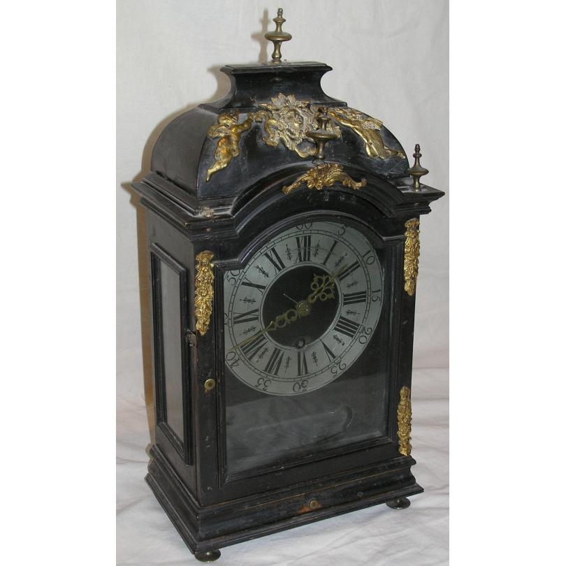 Pendule Louis XIV, mouvement simplifié