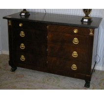 Directoire commode with 4 draw
