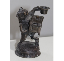 "Petite boite ""Ours"" en bronze"