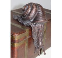 Escargot en bronze