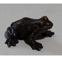 Grenouille en bronze