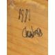 """Tableau """"Chexbres"""" signé CJ WAY"""