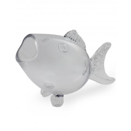 Granc Bol en verre en forme de poisson