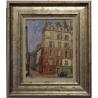 """Tableau """"Vue de Paris"""" signé CHINET"""