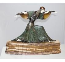 """Sculpture chryséléphantine """"Thaïs"""" signée CHIPARUS"""