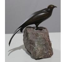 Martinet en bronze, signé REUSSNER