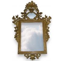 Miroir rectangulaire Régence.
