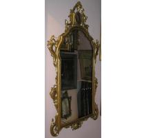 Miroir Baroque à parts closes.