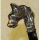 """Chausse-pied """"Tête de cheval"""" argenté"""