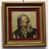 """Tableau """"Portrait de vieillard"""" signé A. DYAS"""