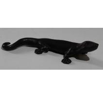 Gecko en bronze
