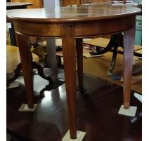 Table ronde style Louis-Philippe en merisier