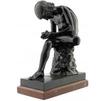 "Bronze ""Tireur d'épine"" par GLADENBECK"