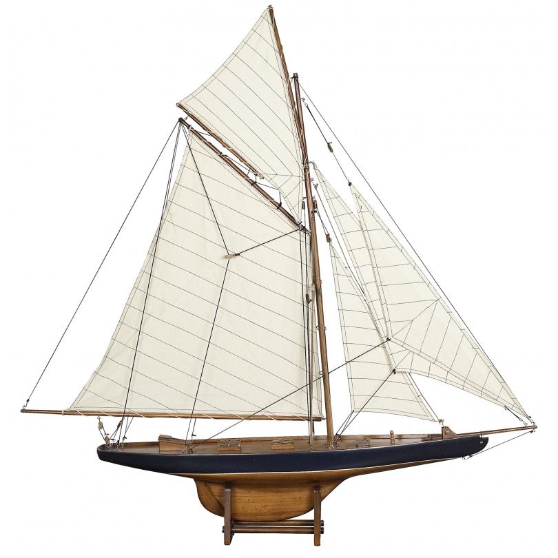 """Maquette de voilier """"Colombia"""", petit modèle"""
