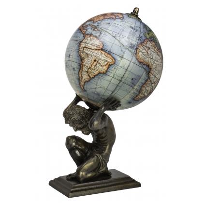 Globe Terrestre avec support Atlas