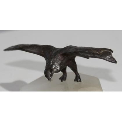 Aigle miniature en bronze