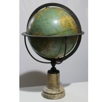 Globe terrestre par THURY & BELNET