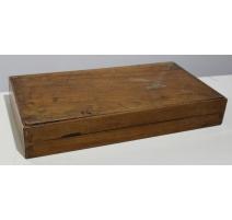 Ancienne boite de backgammon en bois
