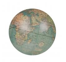 """Globe terrestre """"Weber Costello"""" avec socle en alu"""