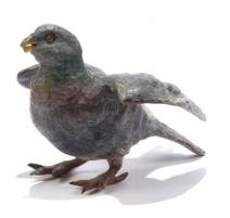 Pigeon en bronze de Vienne