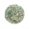 Boule de coquillages verts, grande