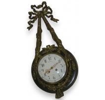 Louis XVI wall clock, signed J