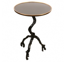 Table ronde pied arbre