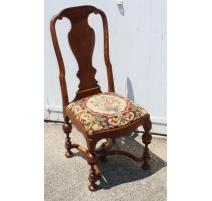 Suite de 6 chaises Louis XV Zungenstuhl