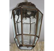 Lanterne octogonale décor greque