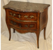 Commode Louis XV bernoise dessus marbe