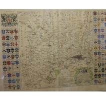 """Gravure """"Carte de Londres"""" par SEALE & BOWEN"""