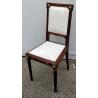 Suite de 9 chaises style Louis XVI en acajou