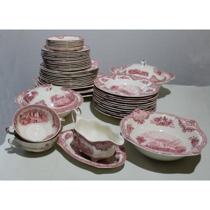 Service en porcelaine Old Britain Castles