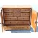 Buffet fribourgeois à porte double et deux tiroirs