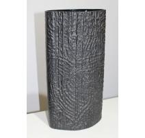 Vase en porcelaine noire de Rosenthal