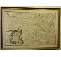 Carte de l'Empire d'Allemagne par ZANNONI