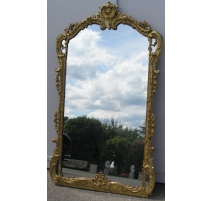 Grand miroir Louis XV a part closes