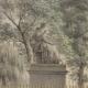 Gravure Das Rousseau Denkmal zu Genf