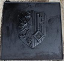 """Plaque de cheminée """"Genève"""""""