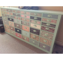Pharmacy chest with 50 drawers