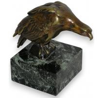 Bronze  Aigle , signé BARYE.