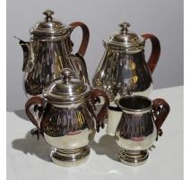 Service à thé avec anses en cuir