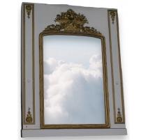 Miroir trumeau Régence.